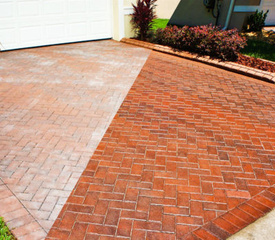 Before and After Paver Sealing and Restoration | Peter's Pressure Washing