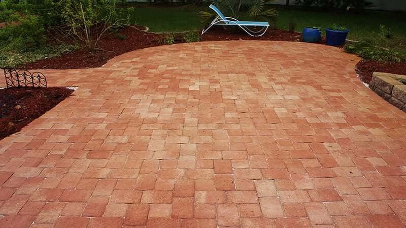 Paver Sealing After | Peter's Pressure Washing