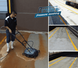 commercial pressure washing, commercial power washing