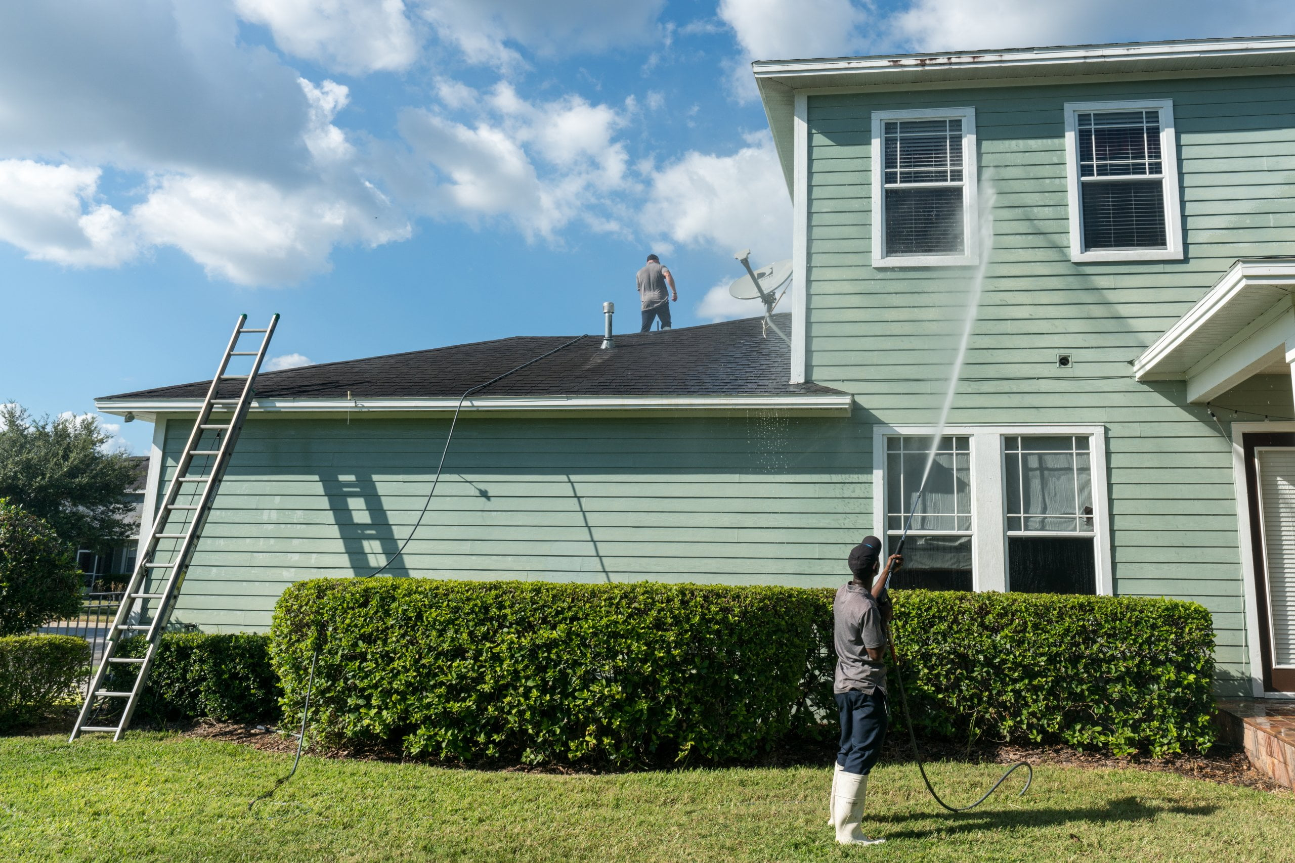 residential solutionsn for residential pressure washing tampa fl